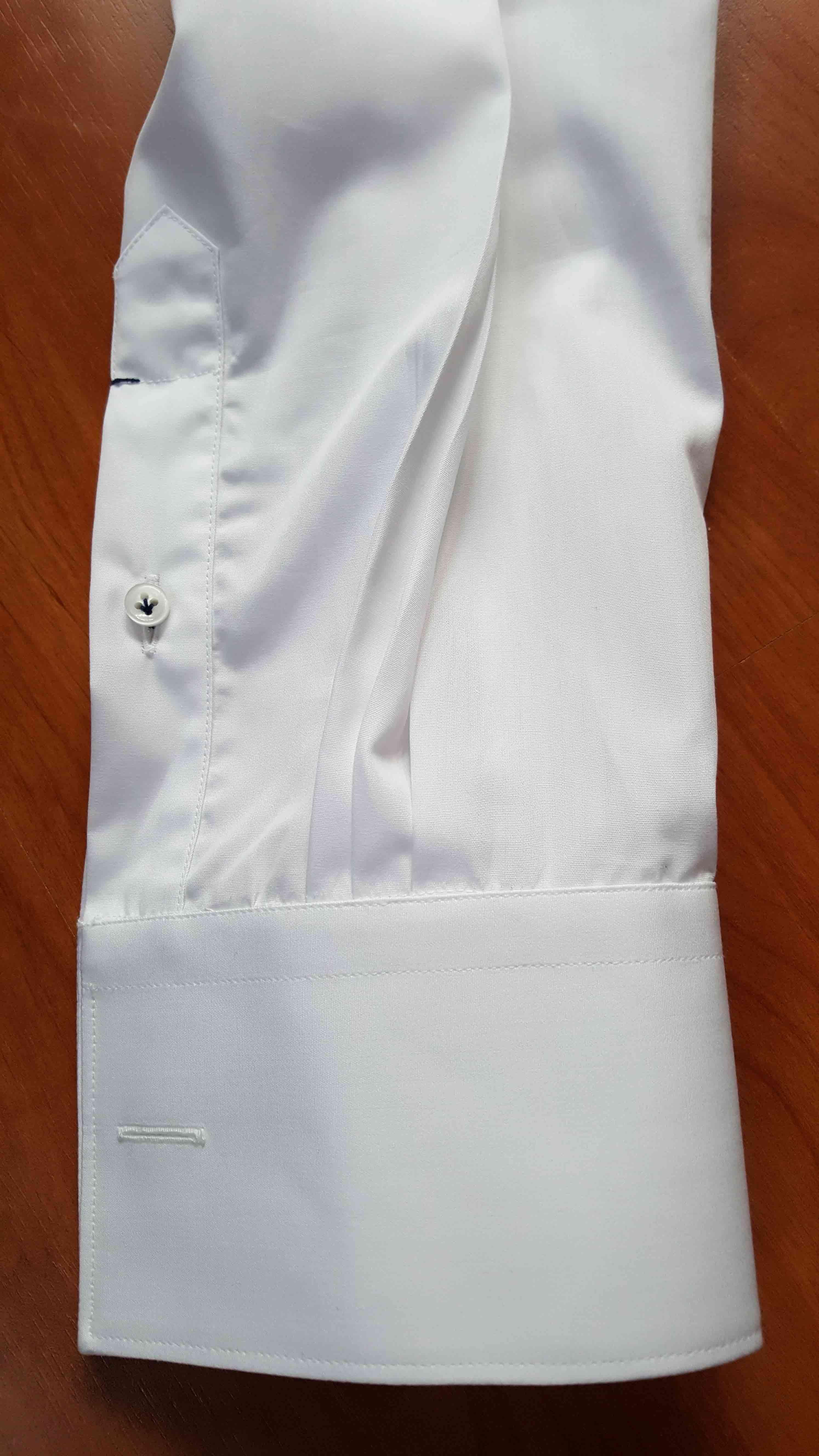 Poignet mixte pour chemise