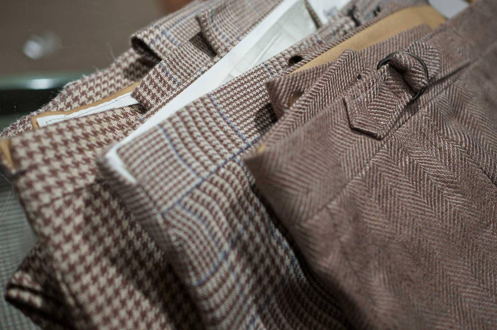 Cérémonie- pantalon pattes de serrage