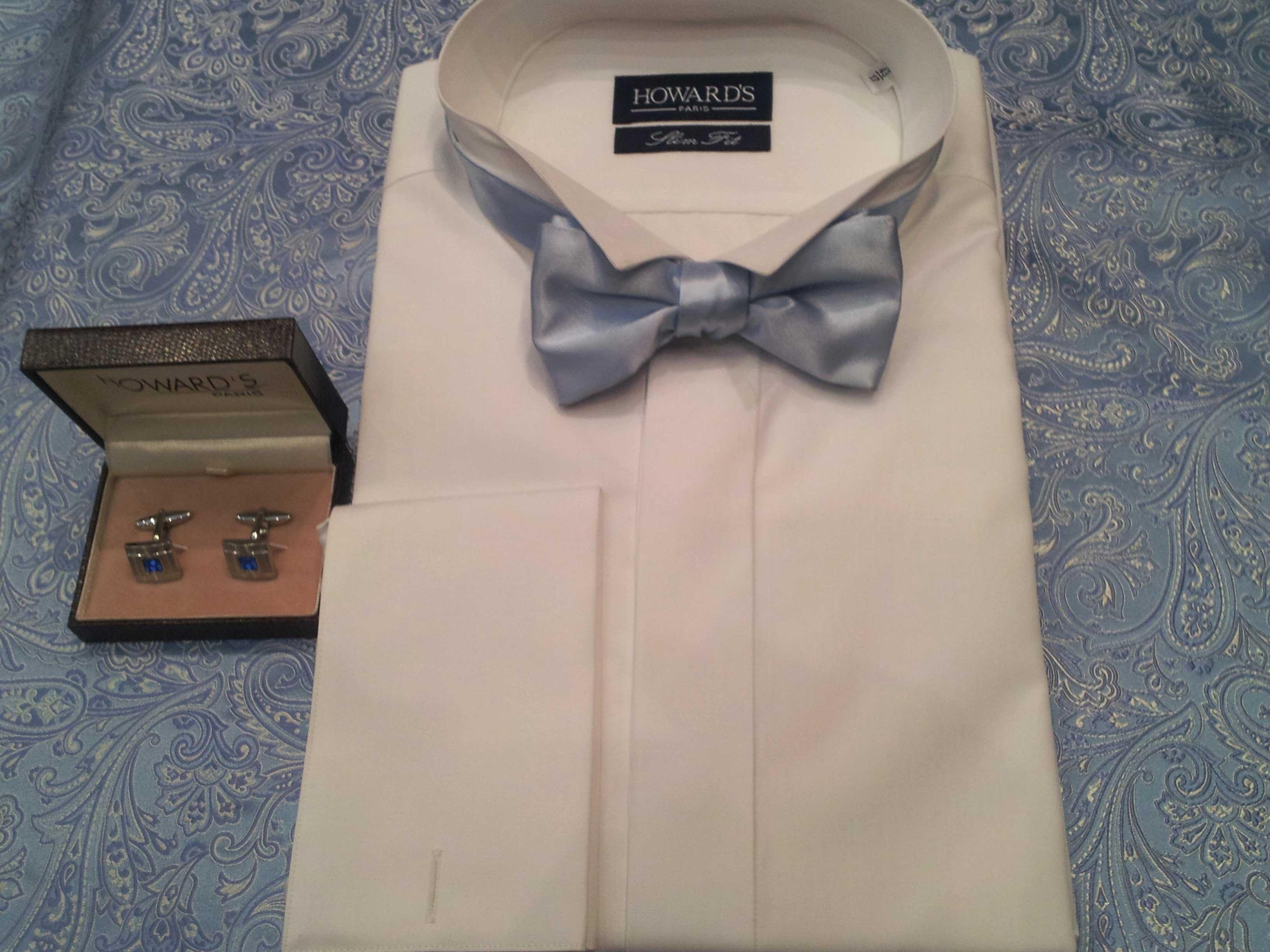 Cérémonie- chemise col cassé