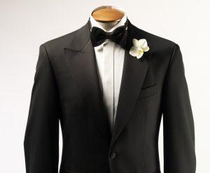 mariage smoking noir cran aigus