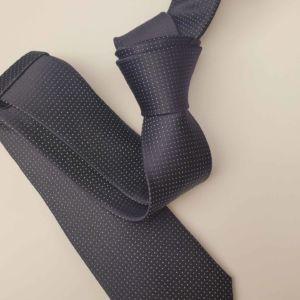 Cravate fine homme